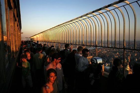 Top of the Empire State Building. One of the most romantic places in the world to me.