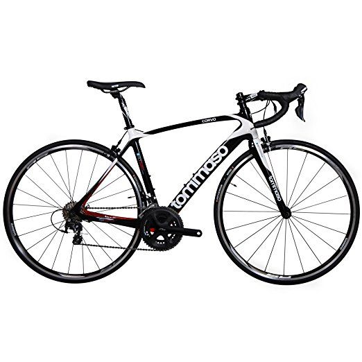 Tommaso Corvo Carbon Fiber Road Bike Large Road Bicycles Bicycle
