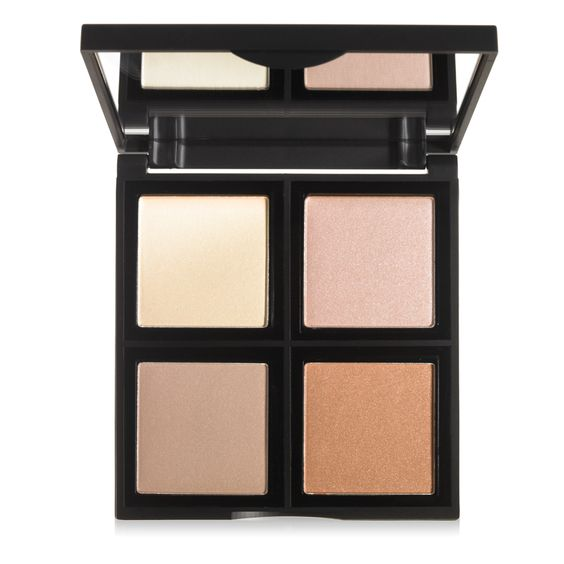 Illuminating Palette   e.l.f. Cosmetics ($6) is a great dupe for ABH Glow Kit ($40)