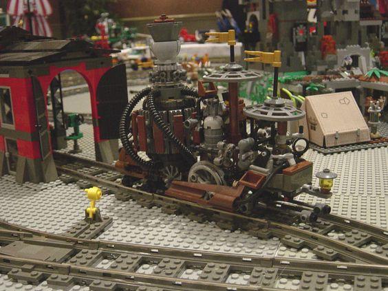 lego victorian steam carriage  | Uchronys©, Site & Forum du Playm Art© Créations à partir de jouets ...