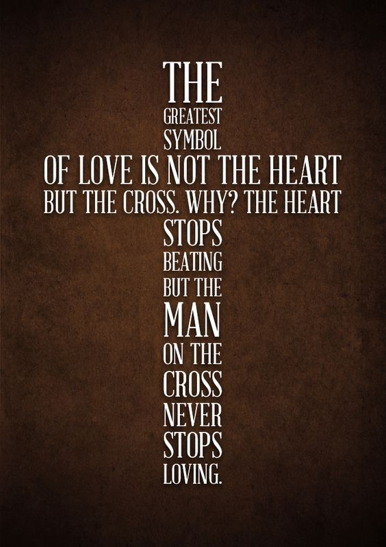 Image result for the cross as a symbol of love