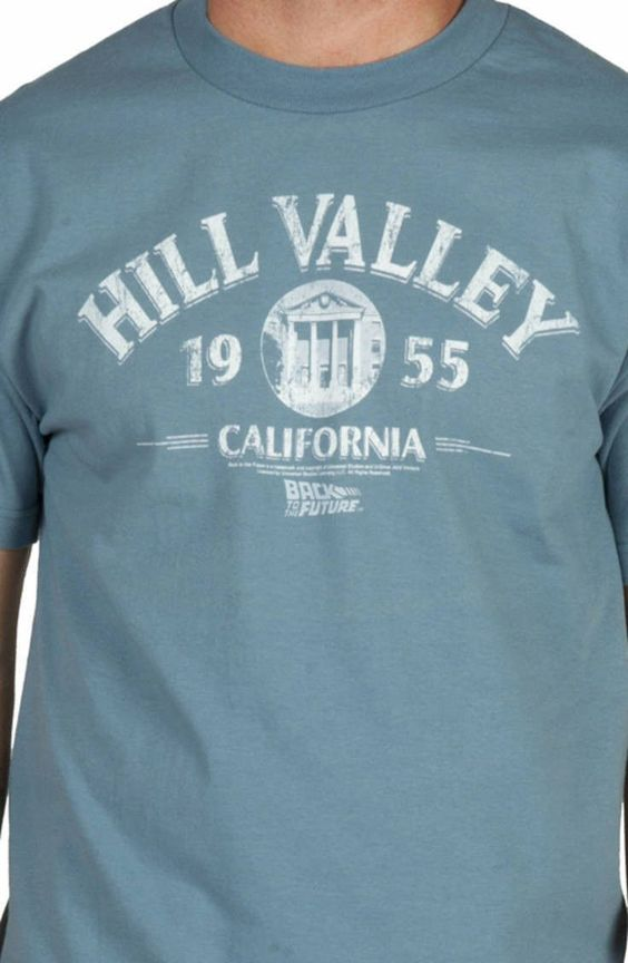 Hill Valley 1955 Back To The Future T-Shirt: 80s Movie T-Shirt