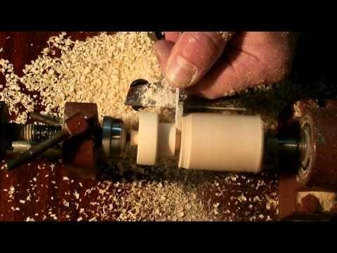 самодельный токарный станок по дереву на основе дрели [ lathe for wood of drill ] - YouTube