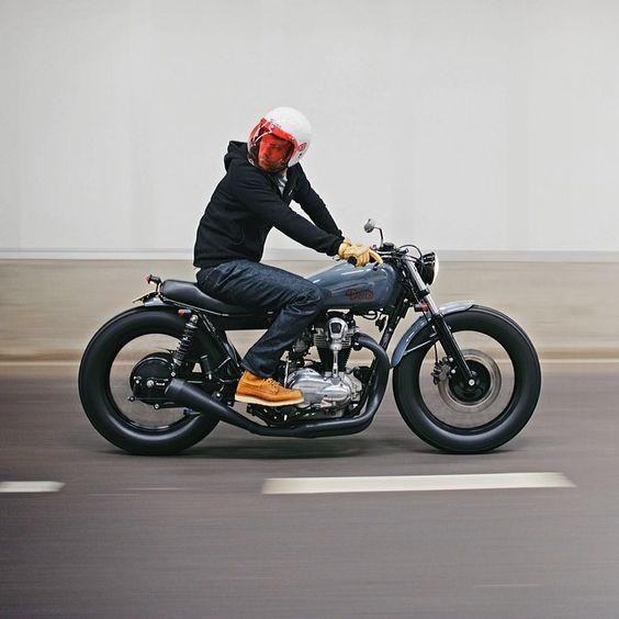 Bubble helmet/ BAD ASS bike