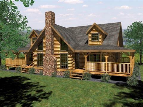 Cabin Style House Plans | Floor Plans In 2019 Log Homes Pinterest Log Home Plans Log