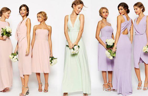 Kleider für die weiblichen Hochzeitsgäste