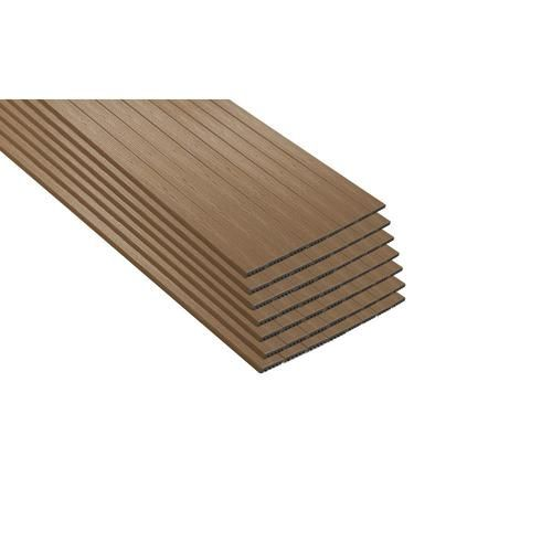 Trex Enhance Basics 12 Ft Beach Dune Square Composite Deck Board Lowes Com Trex Enhance Composite Decking Boards Composite Decking