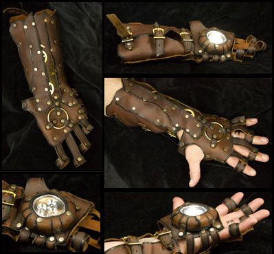 Project Stark: a steampunk Iron Man gauntlet