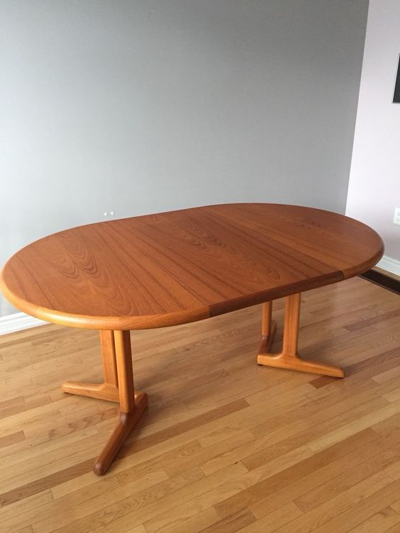 Mid Century Modern Teak Dining Table Dining Tables Sets City