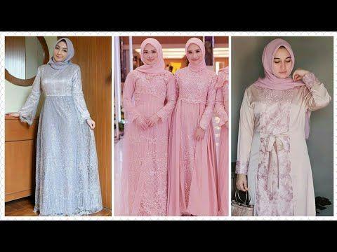 19 Model Baju Gamis Brokat Pesta Muslim Terbaru 2019 2020 Youtube Gaun Model Pakaian Pakaian Wanita