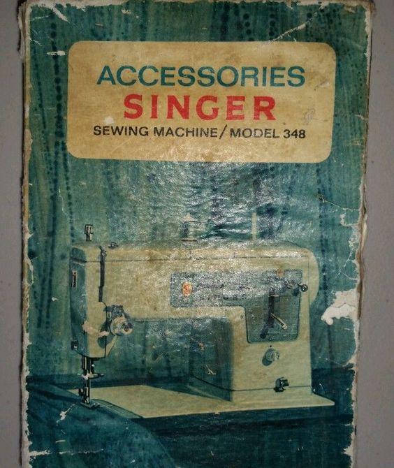 singer 348 sewing machine