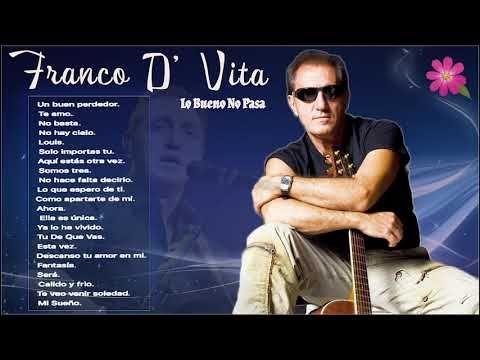 Grandes Exitos De Franco De Vita Lo Bueno No Pasa Youtube Franco De Vita Videos Chistes Youtube