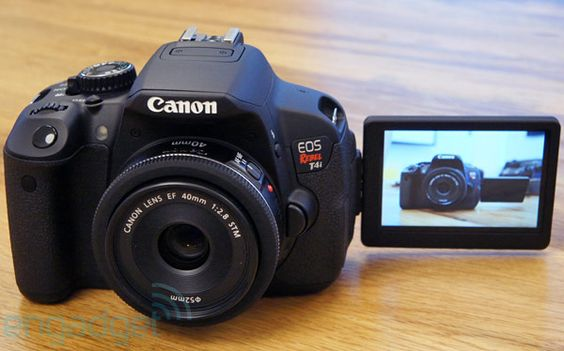 Canon touts EOS Rebel T4i with improved video focusing system, EF-S 18-135mm and EF 40mm silent lenses