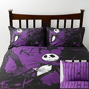 The Nightmare Before Christmas Jack Skellington Face Duvet Cover Sets Bedding