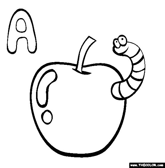 ABC Coloring Pages Free A Online Coloring Education