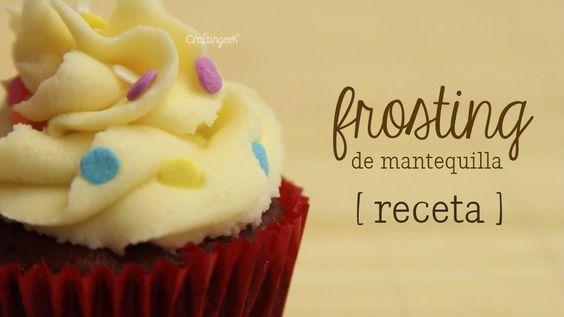 Como hacer frosting (betún) de mantequilla [ Mini serie de Repostería EP...