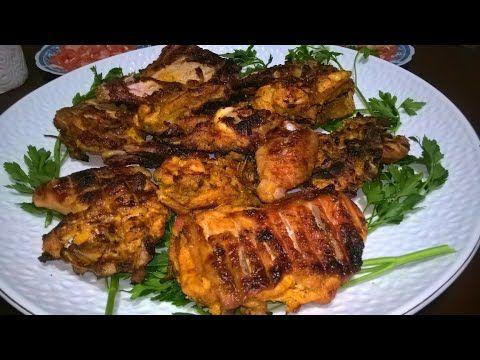أحلى دجاج مشوي على الفحم باروع بتتبيلة طبق هائل ولذيذ Youtube Food Chicken The Creator
