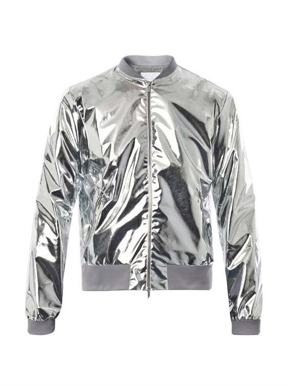 Richard Nicoll Metallic Lightweight Bomber Jacket | Bomber jackets
