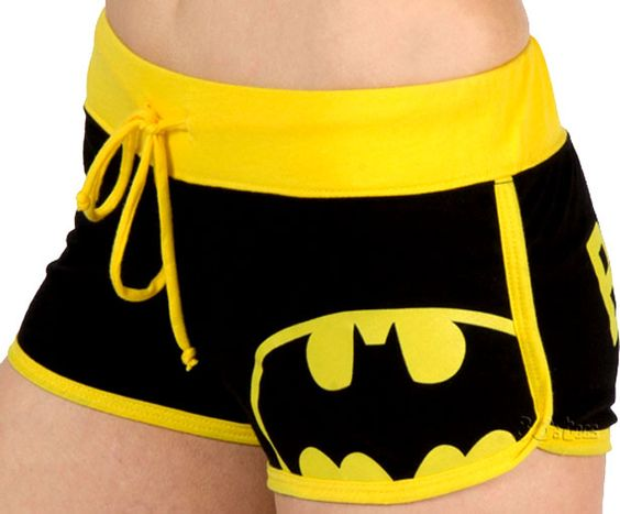 Shorts al estilo Batman
