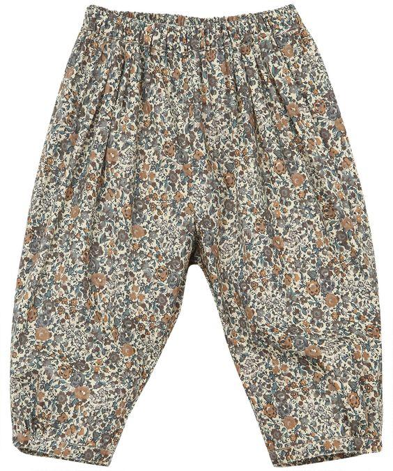 CUTE! Liberty Print Thundor Cotton Trousers, Caramel baby Shop the latest Caramel baby collection at Liberty.co.uk