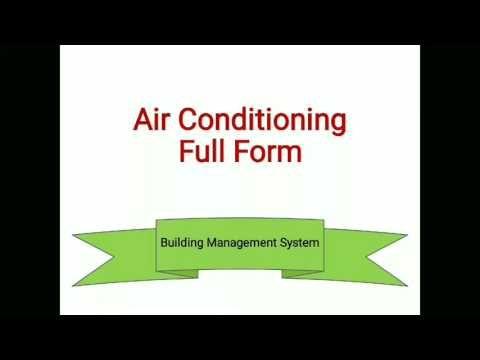 Hvac Full Meaning Hvac Building Management System Building