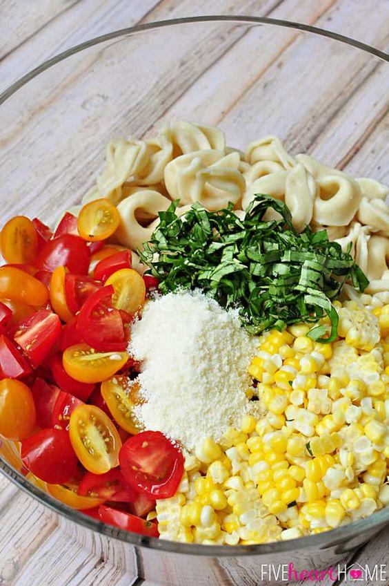 Homemade Pasta Salad Recipe To Enjoy This Spring
