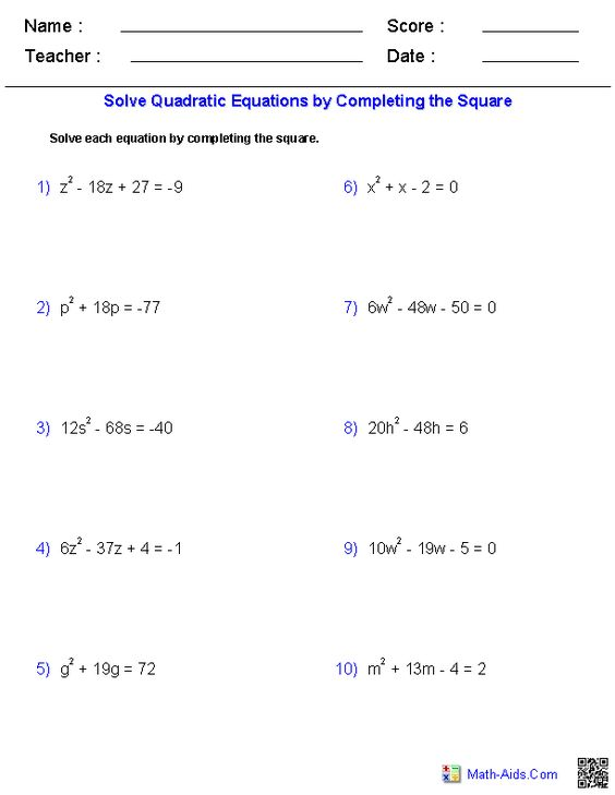 how to solve simultaneous equations with x squared