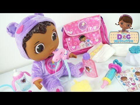 Doc Mcstuffins Get Better Baby Cece Check Up Doll Disney Nova
