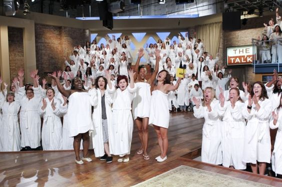 """To kick off Season Three, the ladies of THE TALK """"take it all off,"""" going completely natural and makeup-free for the live season premiere of the CBS Daytime talk show, Monday, Sept. 10"""