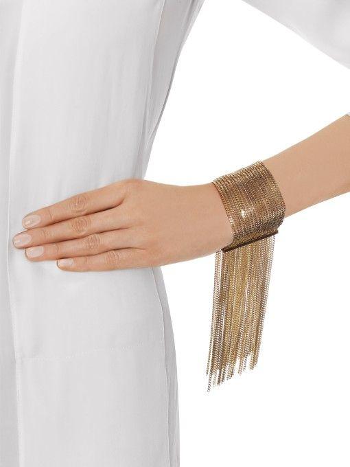 Chloé Delfine fringed bracelet