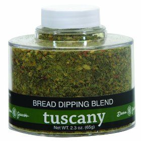 Dean Jacob`s Tuscany Bread Dipping Blend, 2.3 Oz Stacking Jar