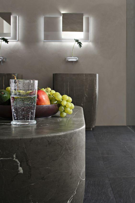 (IT) Chorus Toscoquattro - Claudio Nardi Architects  #design #sink #marble #softlight #toscoquattro #washbasin #waterjet #uae #interiordesign #interiorsdubai #spa #stonebasin #dubai #decoration #dubaiinteriors #dubaidesigndistrict #faucet #fashion #hotel #luxurybathroom #bathroom #bathtub #beautiful #mydxb #mixers