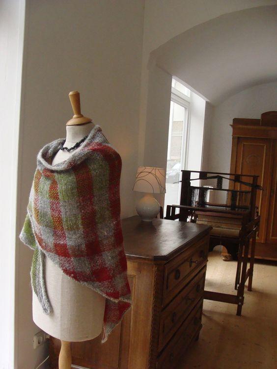 Triloom woven in my studio in Detmold / Germany. Wool & Alpaca