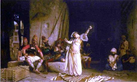 'The Dance of the Almeh'  by Jean-Léon Gérôme