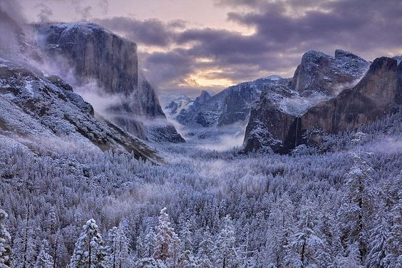 Breathtaking Winter Landscape Photography This is Yosemite Valley