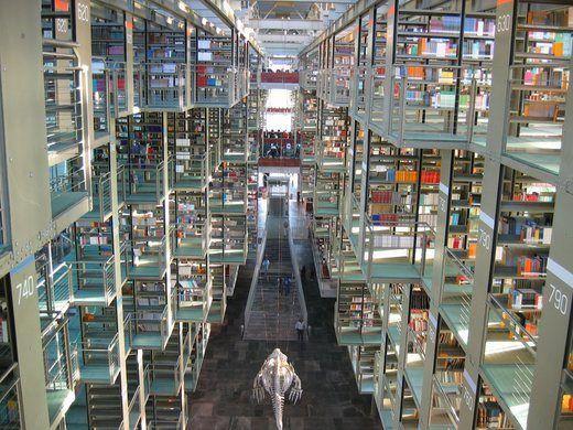 Biblioteca Vasconcelos In 2020 Beautiful Library Jose