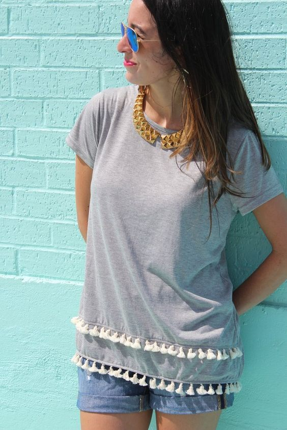 Hadley Top - gray shopallthingssouth.com