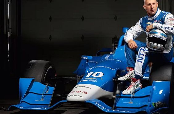 INDYCAR: revised livery for Kanaan's NTT Data car revealed