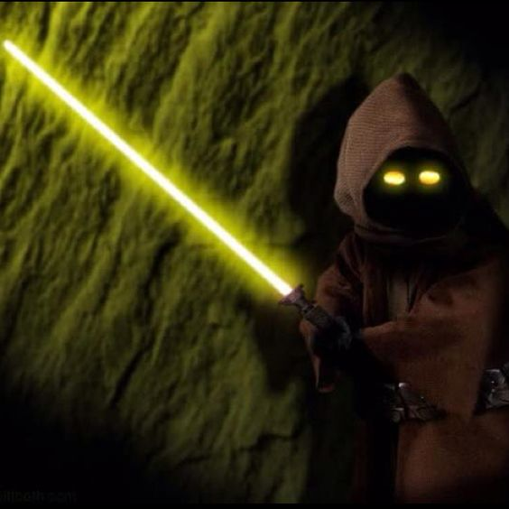 I have a light saber -- what do I do now?