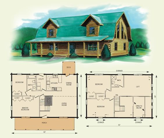 Image Gallery Log Barn Building Plans