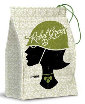 Rebel Green Lunch Tote
