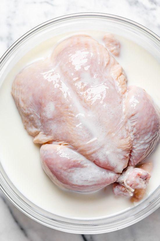 Buttermilk Marinated Air Fryer Whole Roasted Chicken Recipe Whole Roasted Chicken Roasted Chicken Buttermilk Marinated Chicken