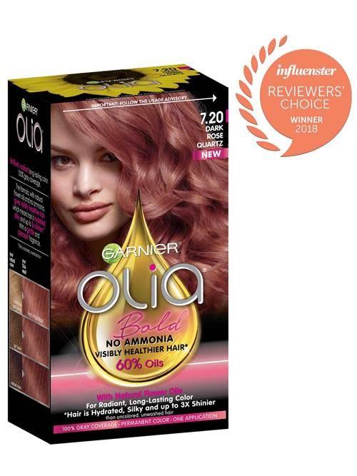 Olia 7 20 Dark Rose Quartz Ammonia Free Hair Color Hair Color