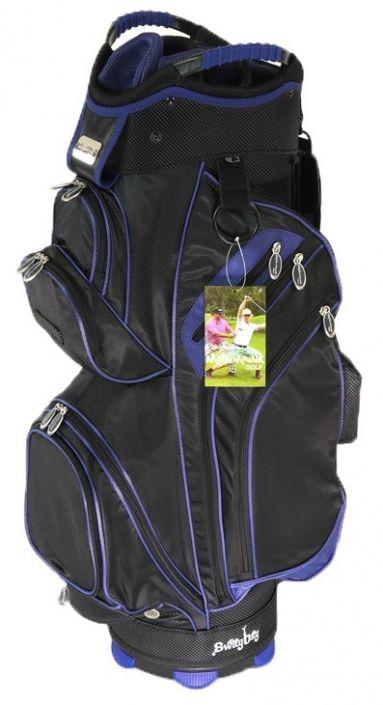 Black & Blue Molhimawk Men's M2500 Golf Cart Bag available at Lori's Golf Shoppe