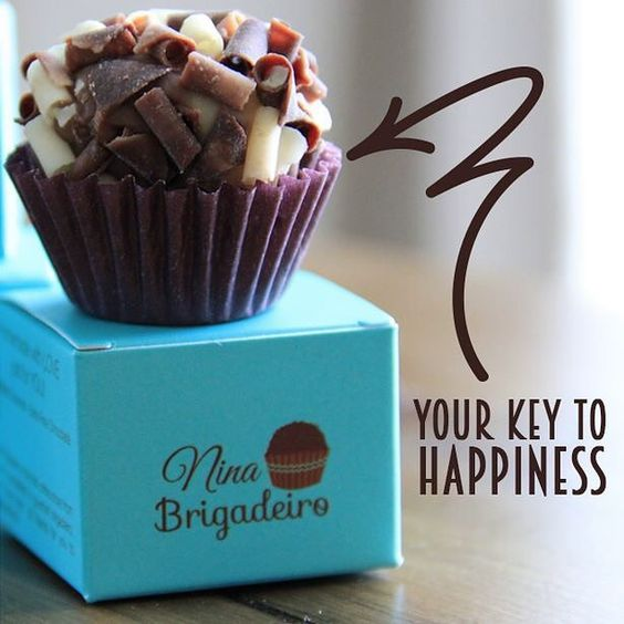 Brigadeiros is the Key to happiness! Happy Saturday to you! #ninabrigadeiro#gourmetbrigadeiro#sweetsaturday#brigadeiro#chocolate