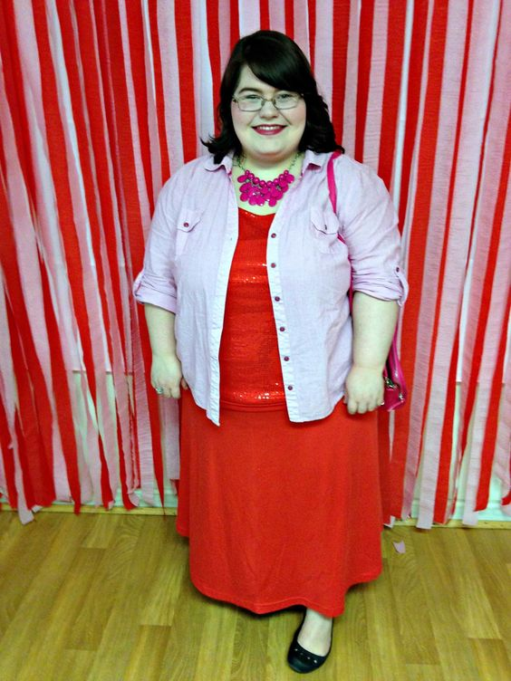 Unique Geek: Plus Size OOTD: Valentine's Day: