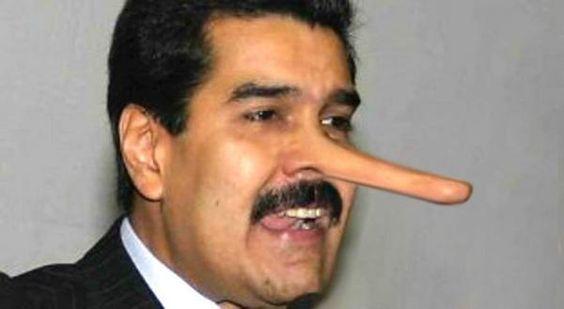 """PRÁCTICA GOEBBELIANA: """"Maduro miente, que algo queda"""""""