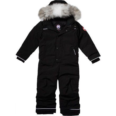 Canada Goose' Toddler's & Little Boy's Fur-Trimmed Grizzly Snowsuit