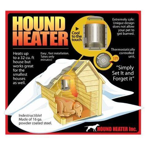 Hound Heater Pet House Furnace Heater Http Www Thepuppy Org Hound Heater Pet House Furnaceheater Dog House Diy Dog House Heater Dog House