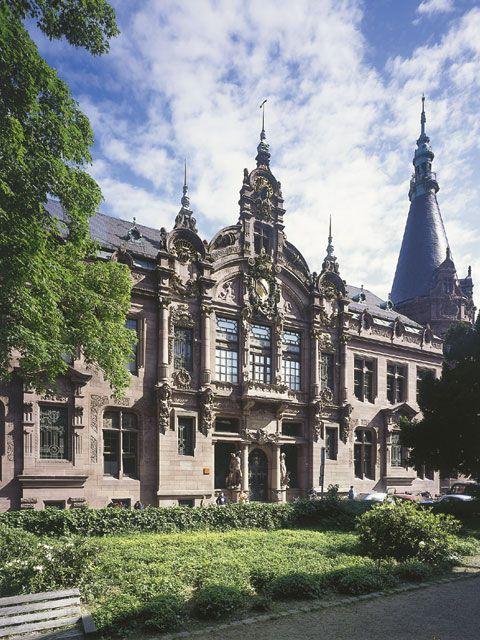 Library of University of Heidelberg,  Heidelberg, Baden-Württemberg, Germany